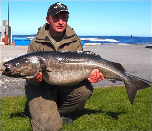 22. místo mario kintler, halibut 112cm, 15,60kg, ostrovvega 30.4.2011