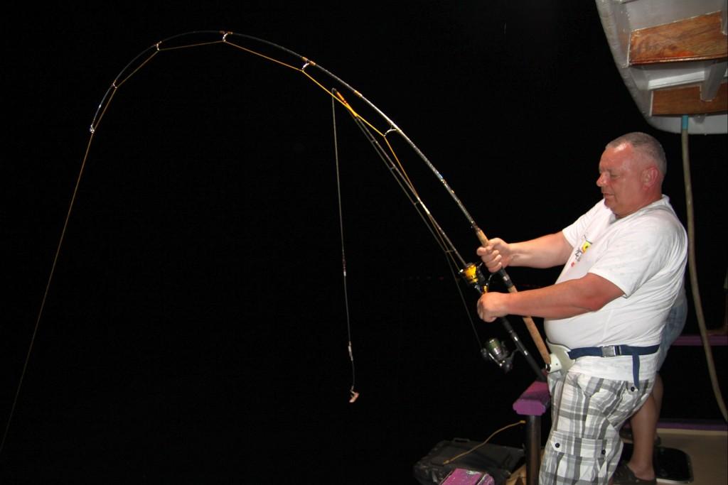 Převazování ryby