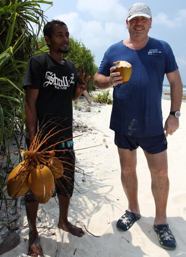 Pobyt na kokosovém ostrově